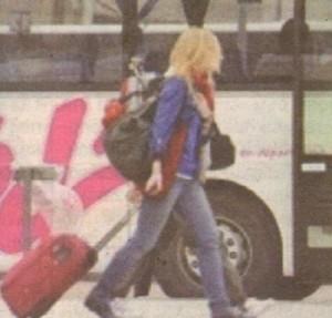 Секундата невнимание при слизане от рейса може да ви коства сбогуване с багажа ви