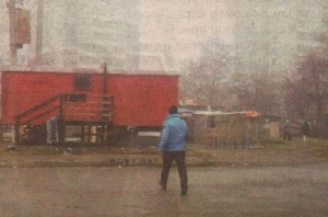 """Спорният фургон в кв. """"Средец"""", станал повод за етноконфликта между роми и българи"""