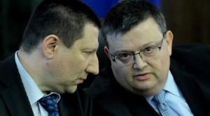 Борислав Сарафов и Сотир Цацаров