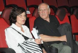 Джоко Росич със съпругата си