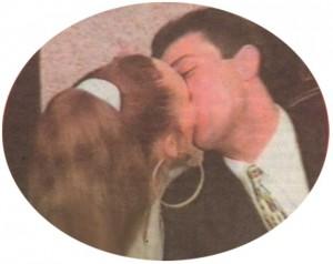 Целувката на Жоро и Мая - най-красивите хора в светска София в началото на 90-те години