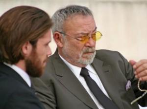 Мехмет Юлай (вляво) заедно с Явор Бахаров, който играе негов син в сериала