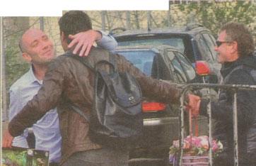 бахаров целува карамазов