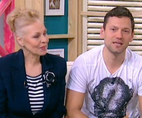 Орлин Павлов и майка му