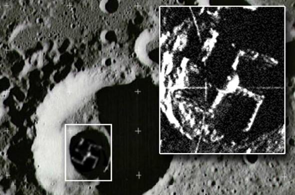 свастика на луната