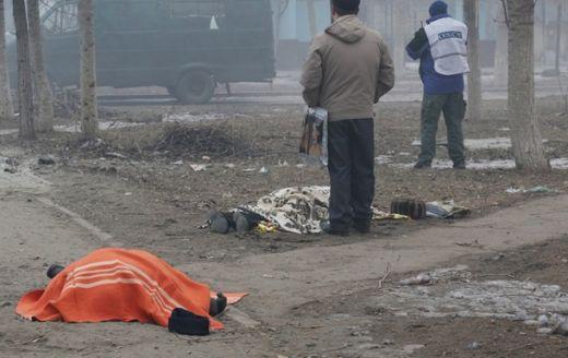 Украйна трупове