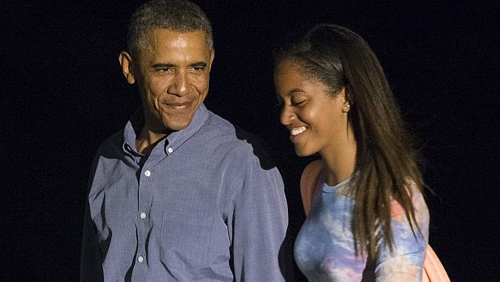 Обама щерка