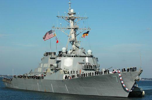 американски кораб