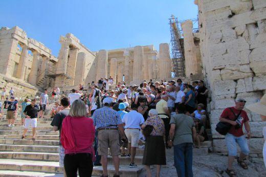 Гърция туристи