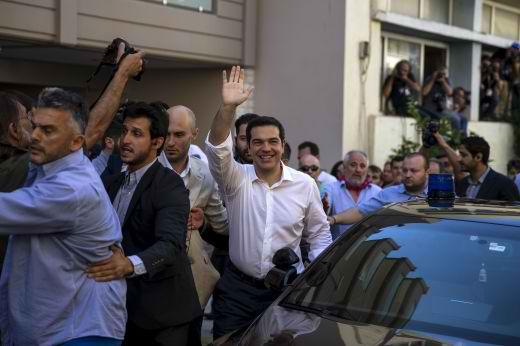 Гърция избирателна активност