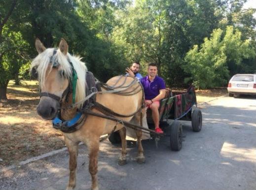 Иван и Андрей кон