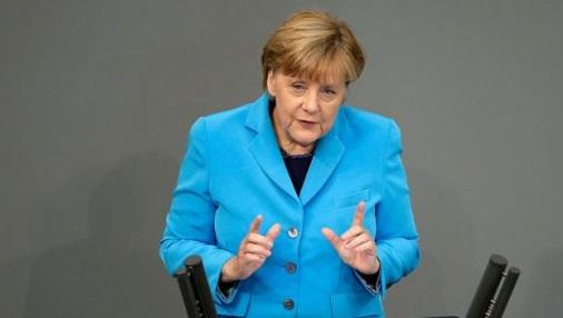 Меркел синьо