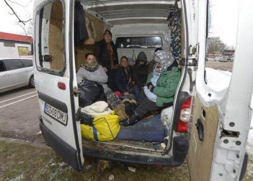 мигранти автобус