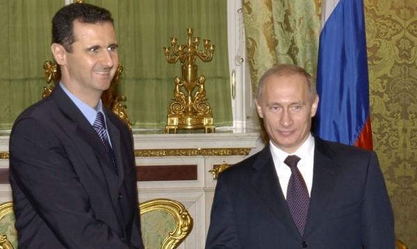 Башар Асад Путин