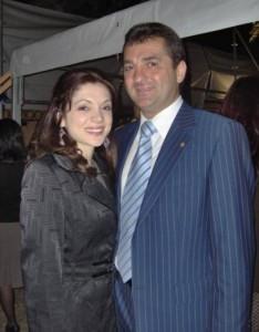 Николай Гигов с щерка си Ели Гигова