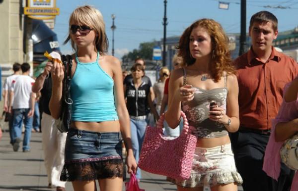 руски туристки