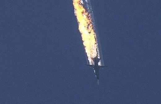 сваления руски самолет