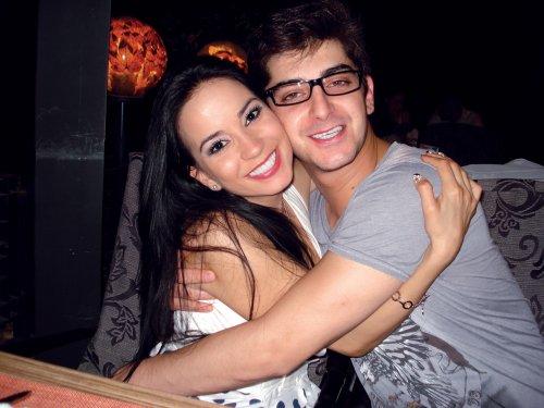 Сашо Кадиев и съпругата му Таня
