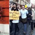 мъже поли протест