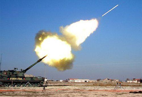 Турция артилерия