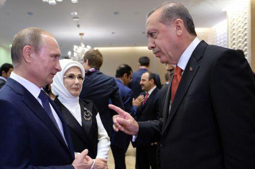 Путин Ердоган