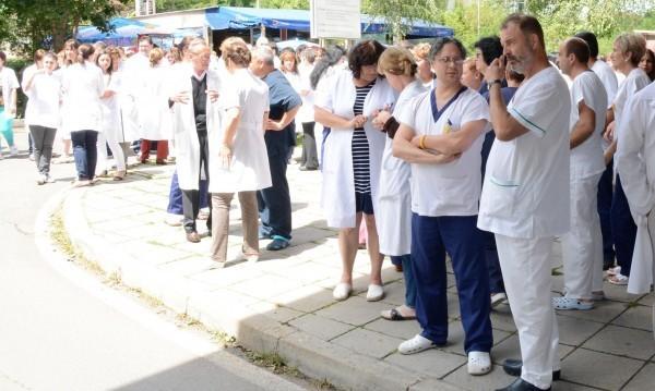 лекари протест
