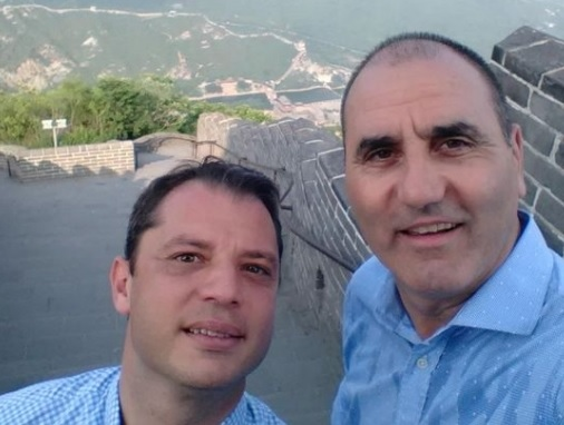 Цветанов селфи китайска стена