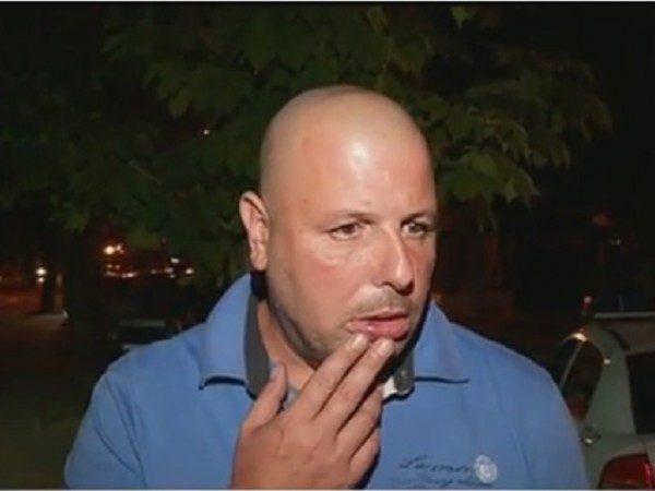 Пребитият и стресиран от хулиганството на Стоичков Петър Симчев!