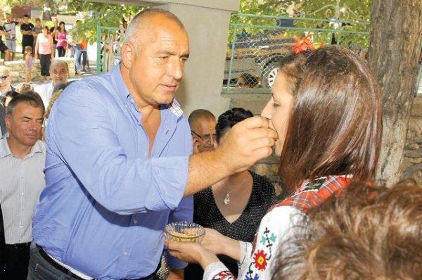 Борисов посрещане