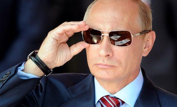 Путин с очила