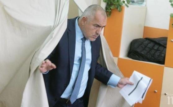 Борисов гласува