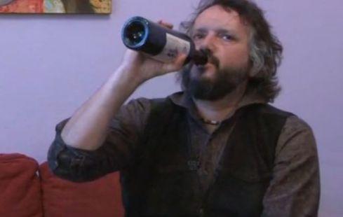 Калин Терзийски пие
